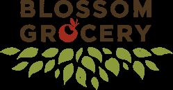 blossom grocery logo